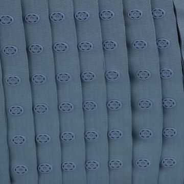grijs blauw drukkertjesband