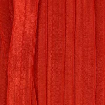 vouwtres in de kleur rood