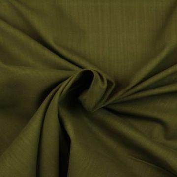 Pantalon Stof  - Warm Army Green