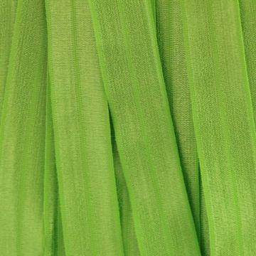 Vouwtres in de kleur lime groe