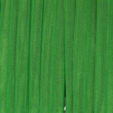 Vouwtres in de kleur groen