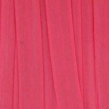 Vouwtres in de kleur fel roze
