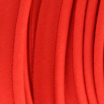 Paspelband rood katoen