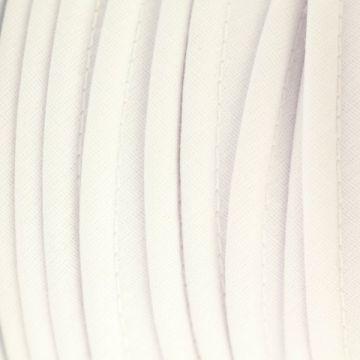 Paspelband wit katoen