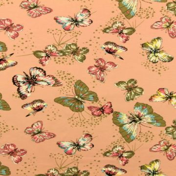 Butterfly on Old Pink