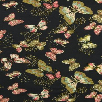 Butterfly on Navy