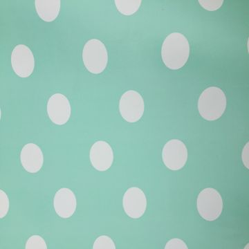 Polka Dot - Soft Turquoise