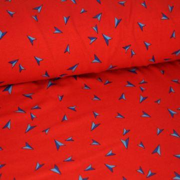 Megan Blue: Arrows on Red
