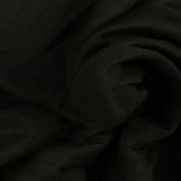 Jacquard Jersey - Black Big Zigzag