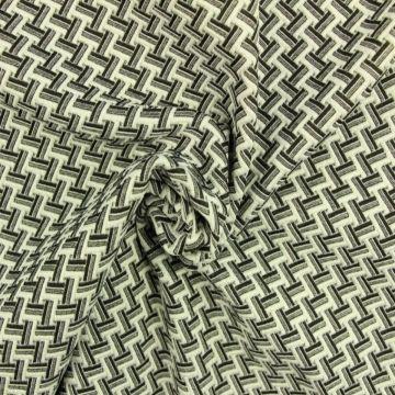 Jacquard Jersey - Small Braided Stripes