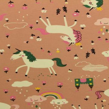 Unicorn on Vintage Pink