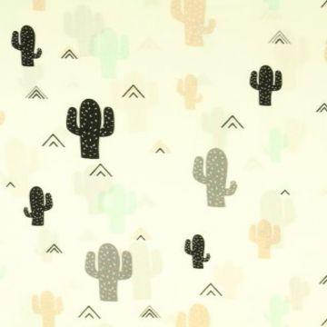 Katoen - Stenzo: Cactus Light Blue