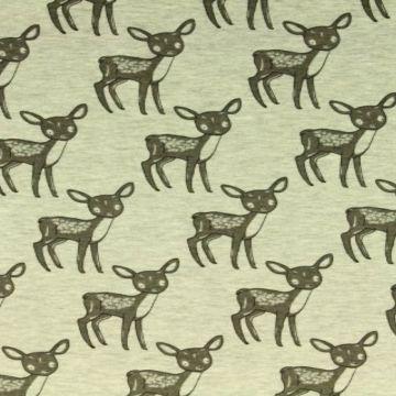 Jogging met een grijze herten print