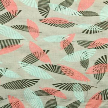 Cotton Viscose - Design Leaf
