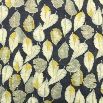 Cotton Viscose - Summer Feathers