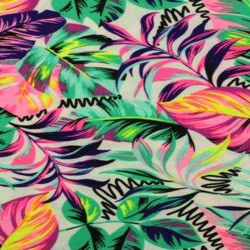 Lycra - Summer leaves spiral