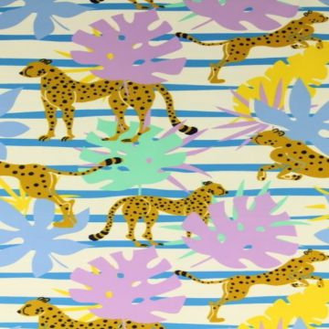 Lycra - Jumping Cheetah Light