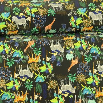 Lycra - Walking with the Animals Black