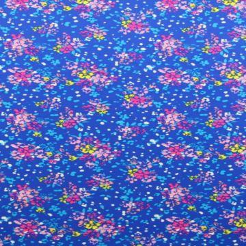 Lycra - Floral Ocean