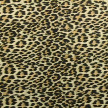 Lycra - Fancy Leopard Camel