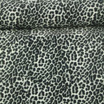Lycra - Fancy Leopard Grey