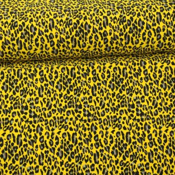 Lycra - Bright Yellow Panther