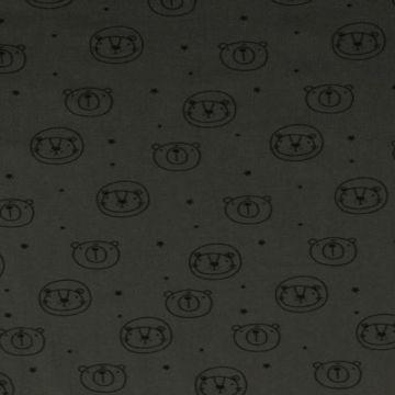 Stonewashed - Bears Dark Grey