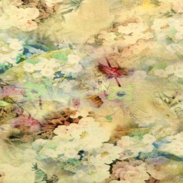 Linnen Deluxe - Cloudy Flowers