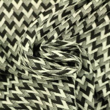 Jacquard Jersey - V pattern