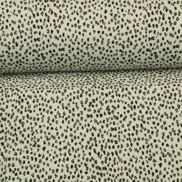 Hydrofiel Stof - Spots Light Grey