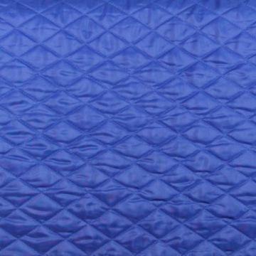 Gewatteerde en Doorgestikte Voering - Blauw