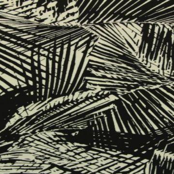 Lycra - Palm bows black/white
