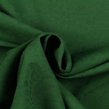 Katoen Jacquard - Groen