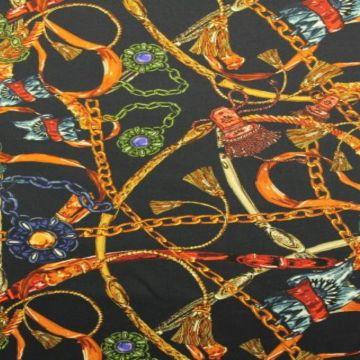 Stretch Katoen - Chains