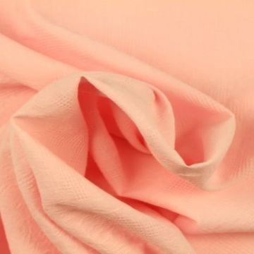 Katoen Jacquard - Licht Roze
