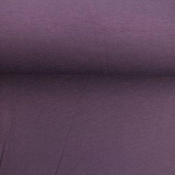 katoenen tricot paars