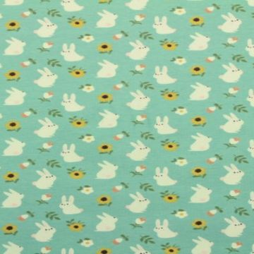 katoenen tricot voor de zomer