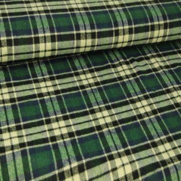 Green/Blue/Creme Tartan