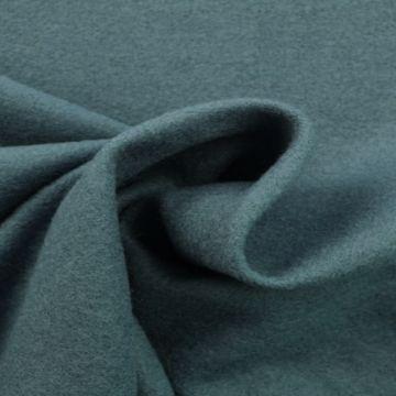 brushed wool vintage blauw