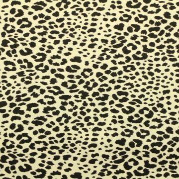 Katoenen Tricot - Cheetah Spots Champagne