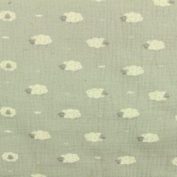 Sheep on Grey