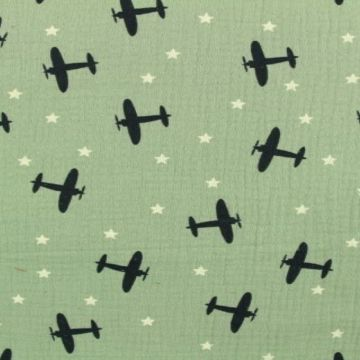Planes in the Sky on Vintage Mint