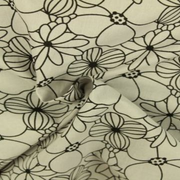 Flowers on Soft Grey