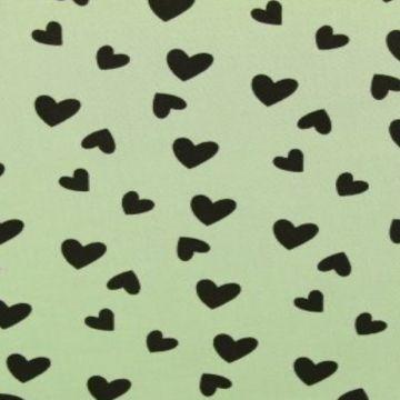 Hearts on Vintage Mint