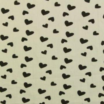 Hearts on Soft Grey