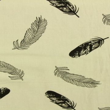 Feathers on Soft Grey
