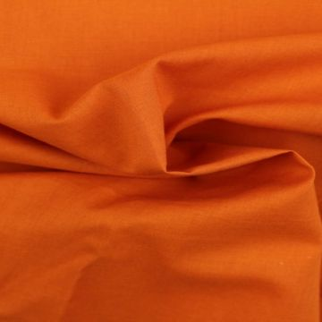 Cotton Voile - Rusty Orange