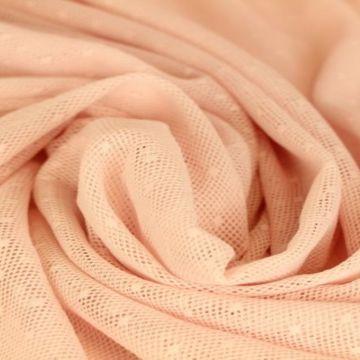 kant roze met stippen