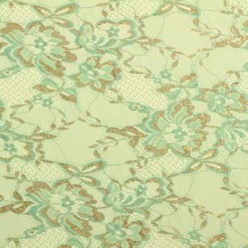 Lace - Mint/Brons