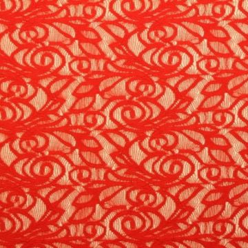 Lace - Bright Red